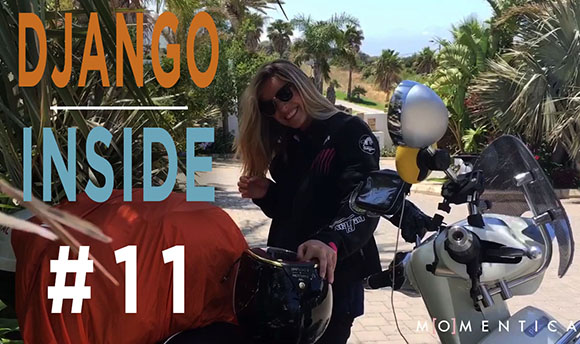 Django inside 11 - The crazy arrival of Clemence and Lisa in Morocco