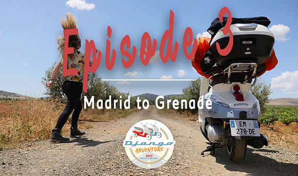Episode 3 - Discover the adventure of Clémence and Lisa on their Django Scooters from Madrid to Grenade