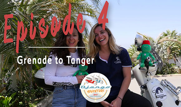 Episode 4 - Relive the adventure of Clémence and Lisa on their Django Scooters from Grenade to Tanger